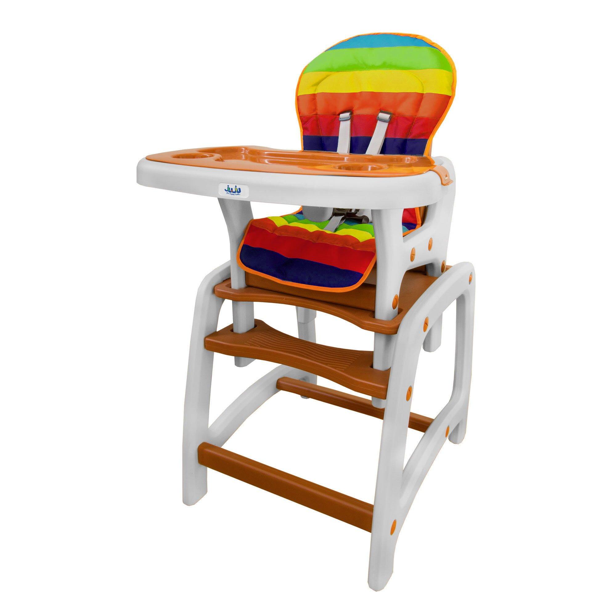 Multifunctional High Chair Juju Eat&Play, Brown